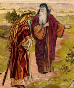 Abraham and Eliezer