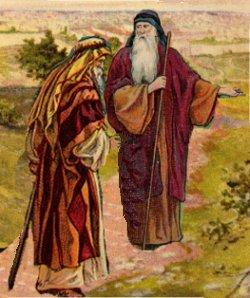 Abraham and Eliezer