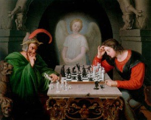 A Famous Chess Game