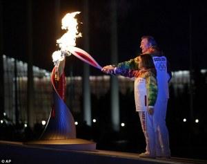 Sochi, Russia Olympic Flame