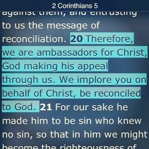 2 Corinthians 5:20