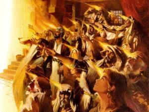 Acts 2:1-4 Pentecost