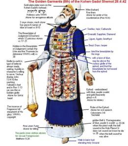 The high priest garments