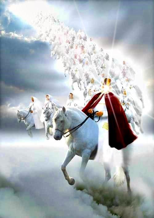 Rev 19.11 Rider on the White Horse David Miles 500W