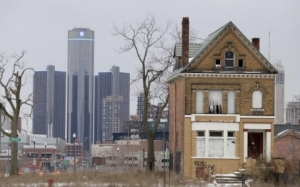 BLIGHT in Detroit, Michigan USA