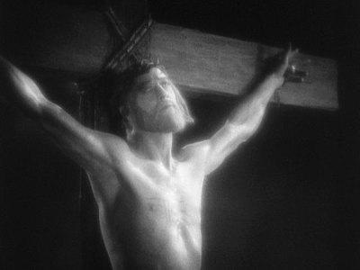1927 King of Kings Crucifixion
