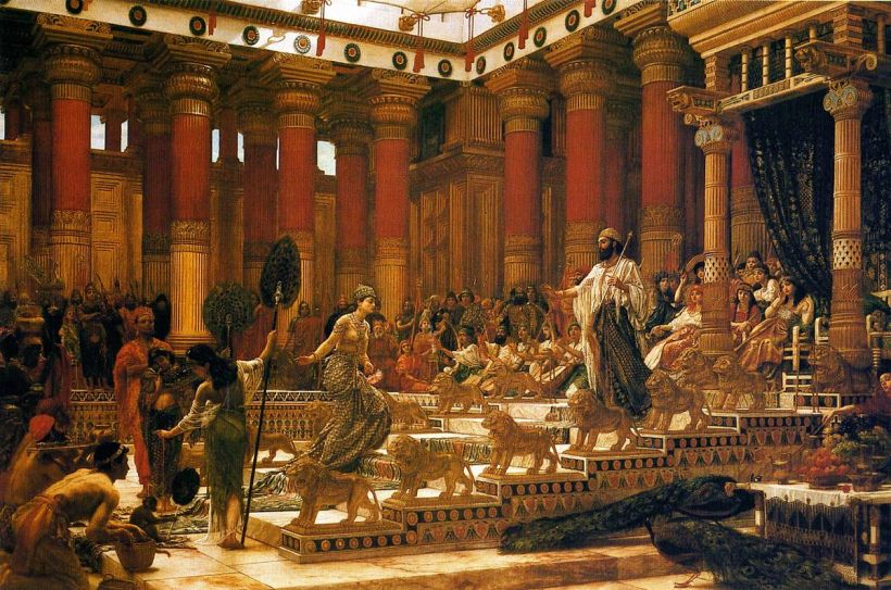 1200px-'The_Visit_of_the_Queen_of_Sheba_to_King_Solomon',_oil_on_canvas_painting_by_Edward_Poynter,_1890,_Art_Gallery_of_New_South_Wales