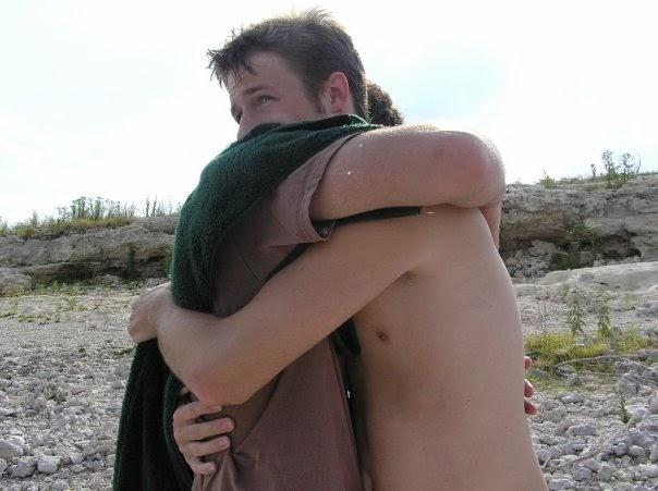 Cal hugs