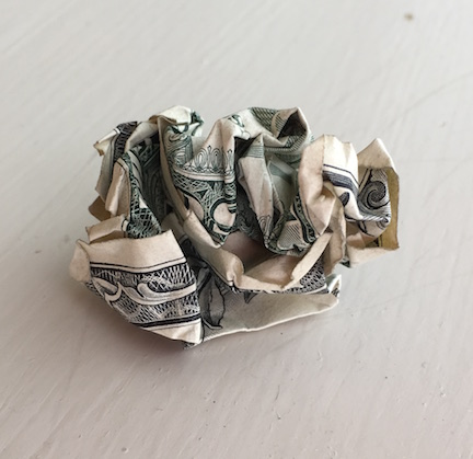 crumpled-money