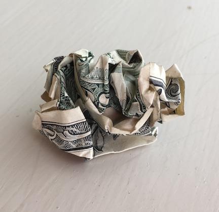 crumpled-money